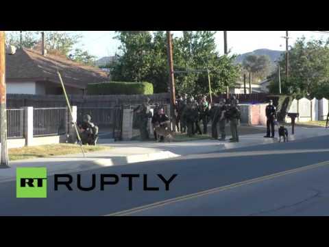 USA: 2 suspects killed after police shootout follows deadly San Bernardino attack