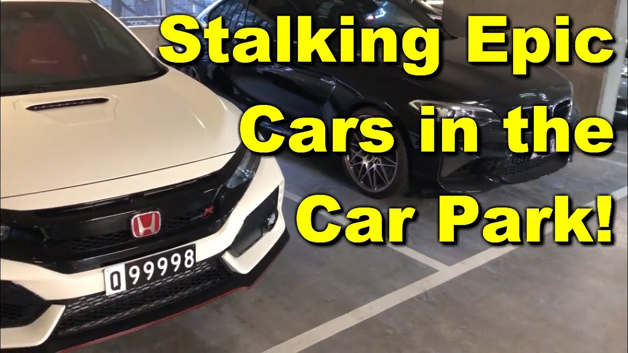 F22 BMW M2 and FK2 Civic Type R carpark stalk - Car guys know the deal!  Akropovic Exhaust spotted!