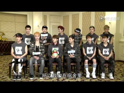 [HQ][FULL] EXO : Tencent Celebrity Interview