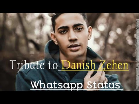 Tribute to Danish Zehen ||Socha tha agar main milungi tujhe || Whatsapp Status