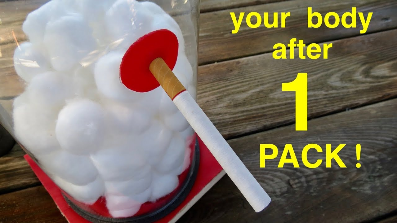 How Smoking 1 Pack Of Cigarettes Wrecks Your Lungs A Must