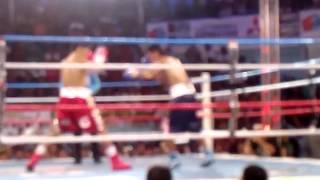 Jerwin Ancajas KO Rd1 vs. Rochmad Santosa