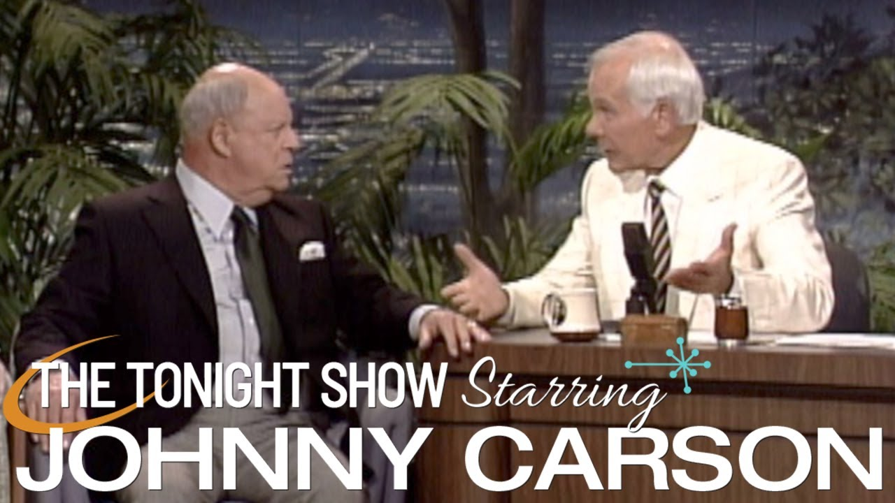 Don Rickles And Johnny Take Shots At Each Other | Carson Tonight Show
