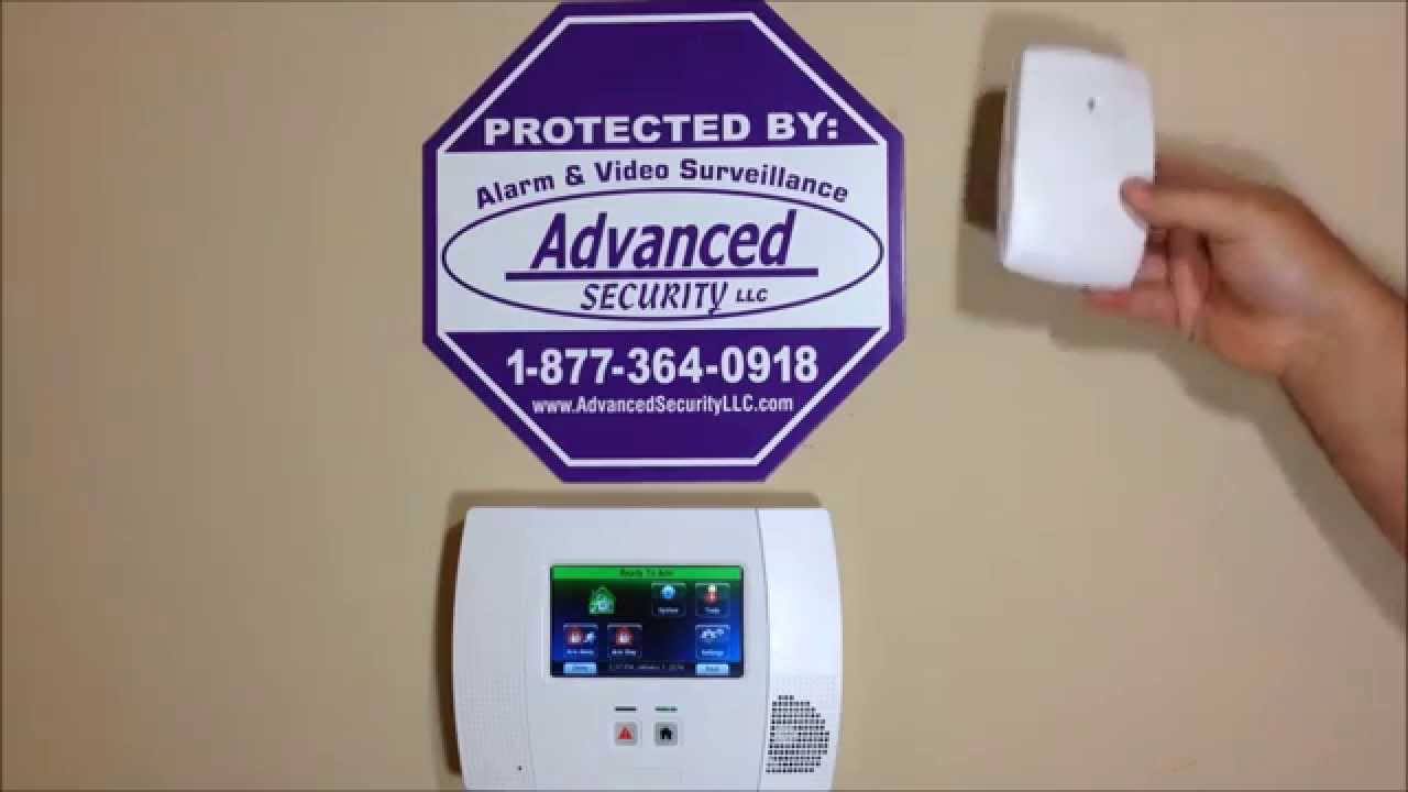 How to Install a Honeywell 5853 Glass Break Detector  YouTube