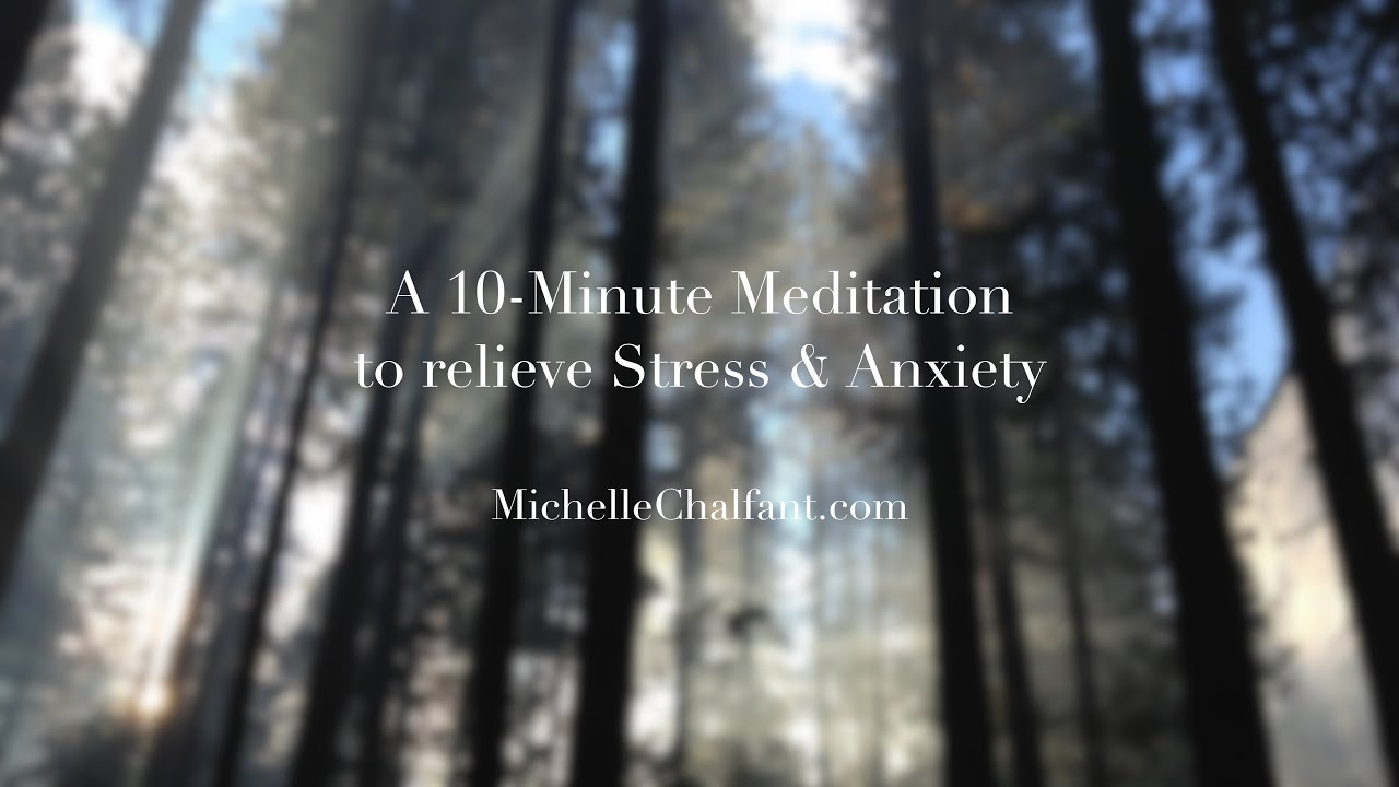 MEDITATIONS - The Adult Chair with Michelle Chalfant