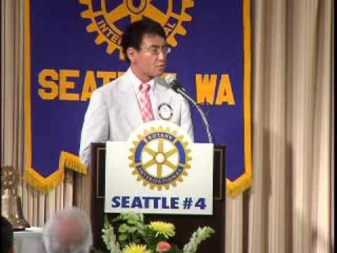 Rotary Luncheon July 26th 2006 Taro Kono, Senior Vice Minister for Justice