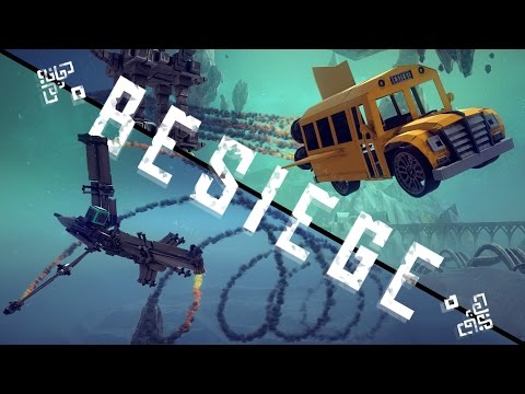 Besiege Best Creations - High Flying Episode! - The Best Air Creations - Besiege Gameplay Highlights