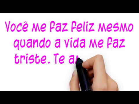 Recado Em Video Mensagem Para Namoradoa Com Musica Romantica Dias