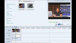 How To Insert An Image In A Video Clip  In Windows Movie Maker Tutorial