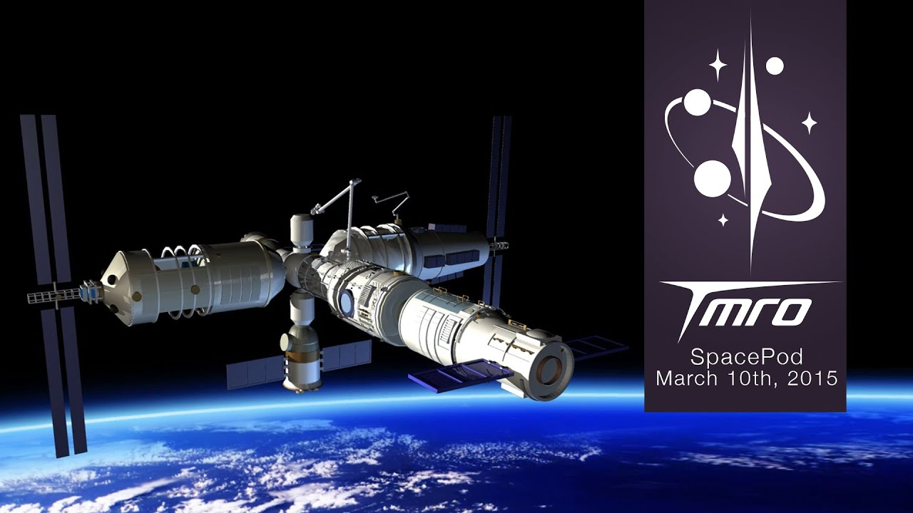 Chinas new Space Station and Cargo Vessel Space Pod 3