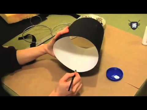 Simple steps: Paper Lamp Shade