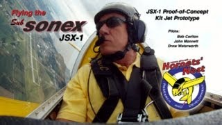 Flying the SubSonex JSX-1
