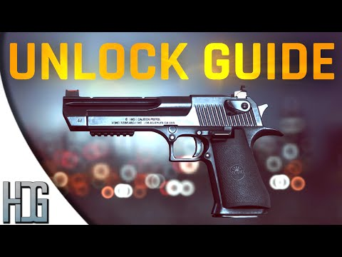 BF4 How to unlock the Desert Eagle - Dragon's Teeth Weapon & Assignment - Battlefield 4