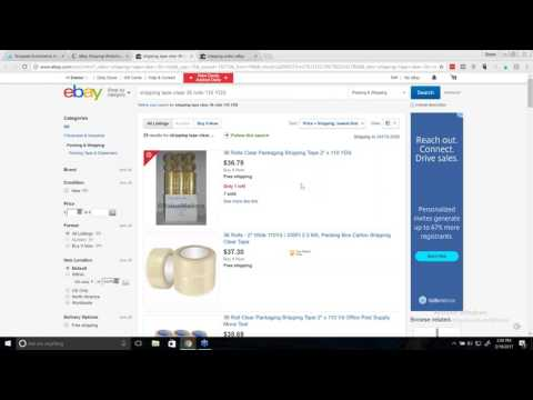 eBay Shipping Tips and Tricks of the Trade