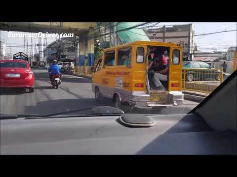 Driving In Manila, Philippines Is More Fun!  EuromanDriver (Documentary) Travel  Review Philippines