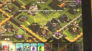Clash of clans max pekkas and healers from Daddy the bonbee guy