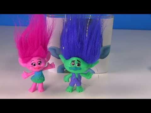 Dreamworks Trolls Movie Toy Surprise Blind Boxes - Save the Trolls Game with Poppy & Branch