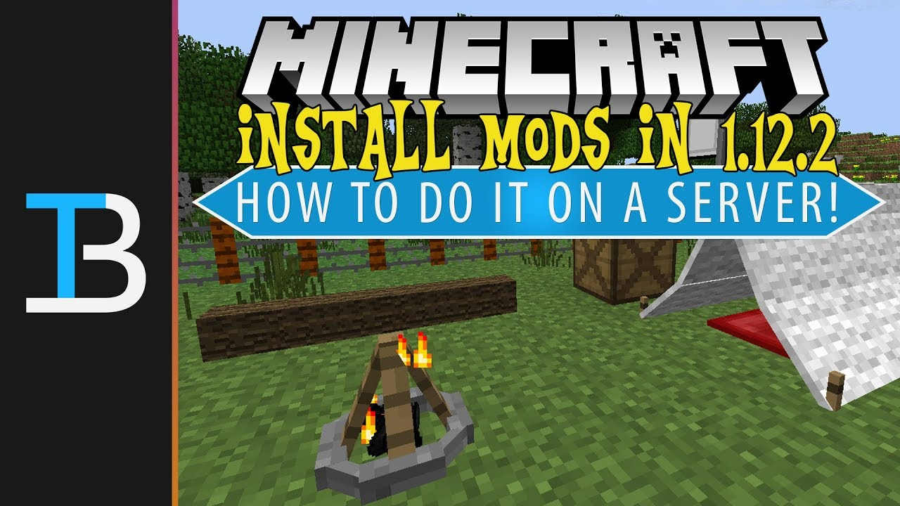 How To Add Mods To A Minecraft 1 12 2 Server (Install Forge Mods on A  1 12 2 Minecraft Server!)
