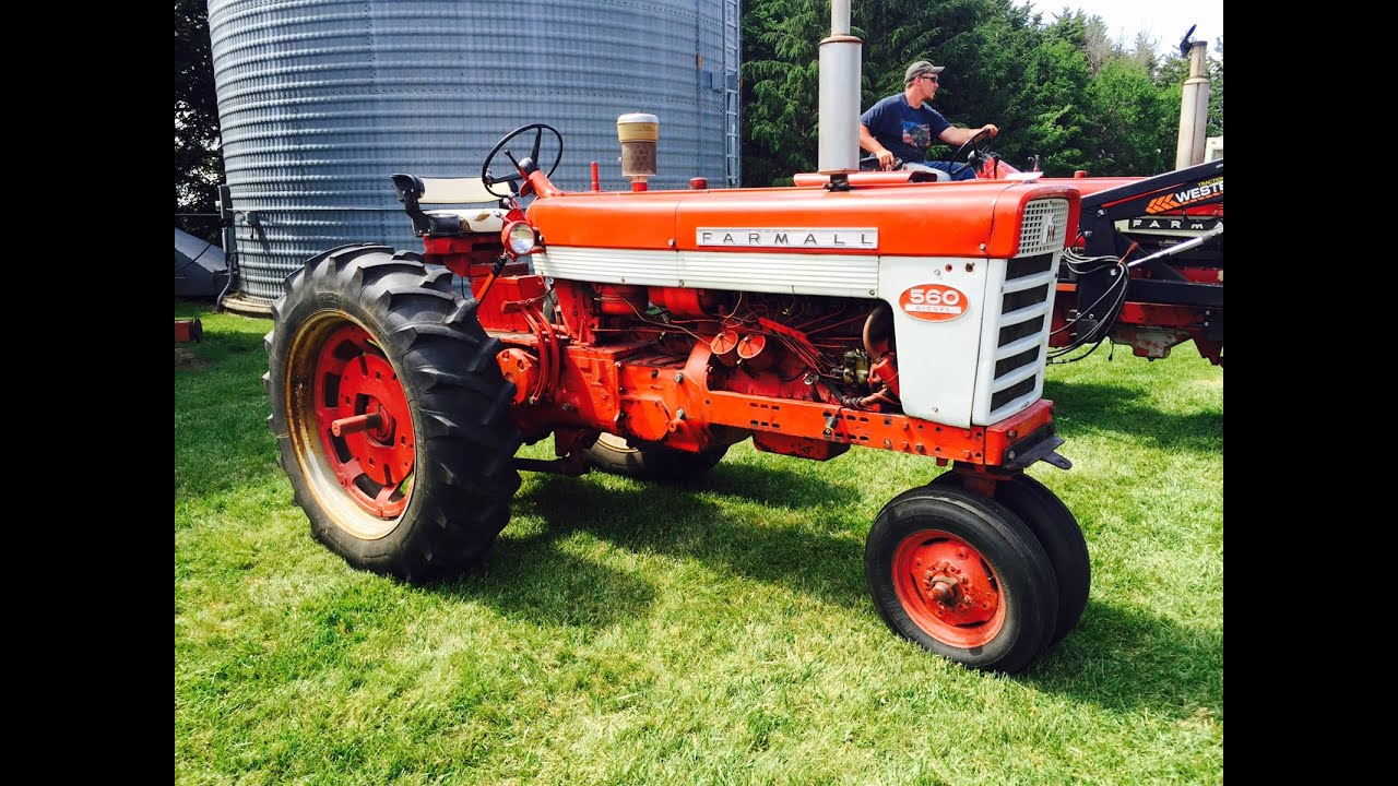 1961 IHC 560 Tractor Sold For 5900 On Nebraska Farm Auction