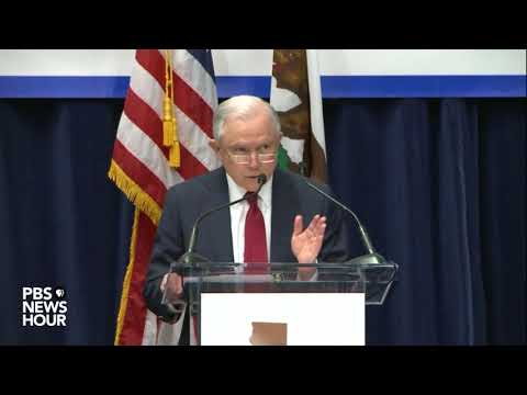 WATCH: Atty. Gen. Sessions discusses sanctuary cities in Sacramento, CA