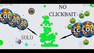 SOLO AGARIO MOBILE REVENGE BEST MOMENTS IN AGAR.IO