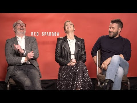 RED SPARROW interviews - Jennifer Lawrence, Joel Edgerton, Francis Lawrence