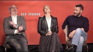 RED SPARROW interviews - Jennifer Lawrence, Joel Edgerton, Francis Lawrence