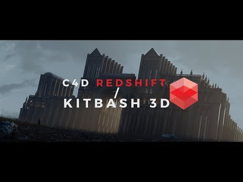 Redshift C4D with Kitbash 3D