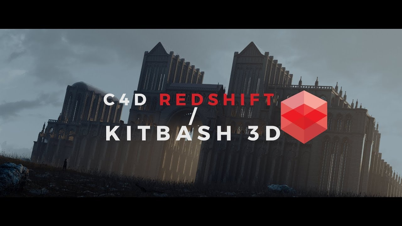 Redshift C4D with Kitbash 3D: LIVE TUTORIAL