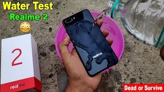 Realme 2 Waterproof Test - Will It Survive or Dead???