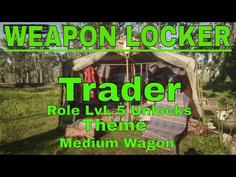 Red Dead Redemption 2 Online WEAPON LOCKER