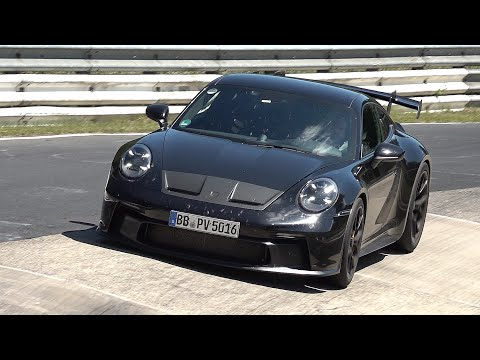 2021 Porsche 992 GT3 - Exhaust SOUNDS On The Nurburgring!