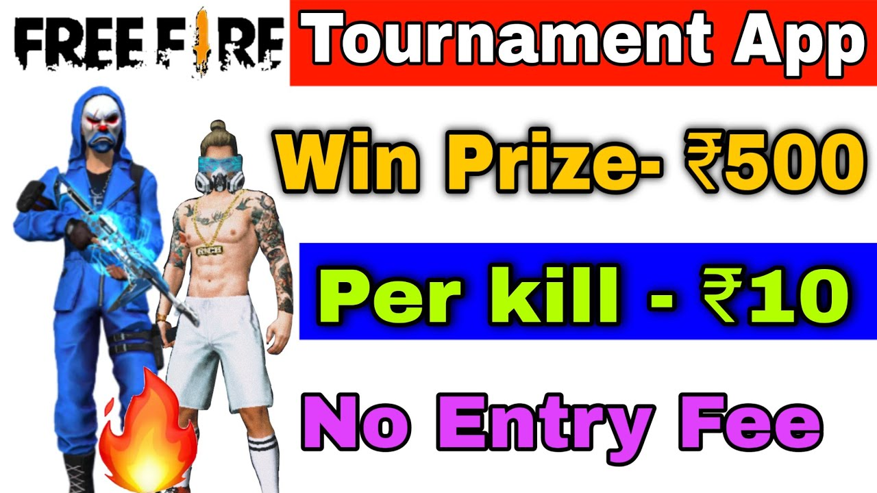Best Free Fire Tournament App Free Entry 2020 How To Earn Money By Playing Free Fire No Entry Fee Youtube