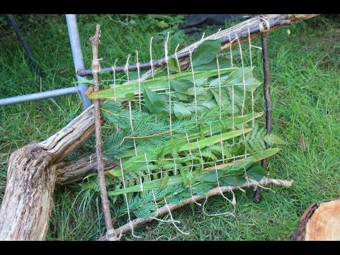 Making a Weaving Square for Forest School