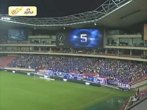 Didier Drogba at Shanghai Shenhua's Hongkou Stadium
