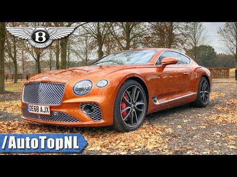 2019 Bentley Continental GT W12 Review by AutoTopNL (English Subtitles)