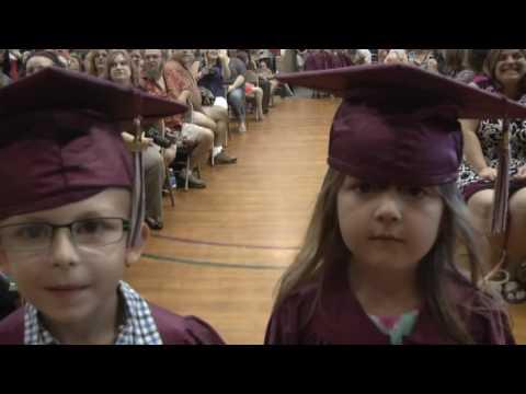 "Mooers Elementary ""K"" Graduation  6-16-16"