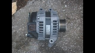Ремонт генератора Denso.На Honda Accord,Civic,CR V.Проверка с приставкой ARC 211