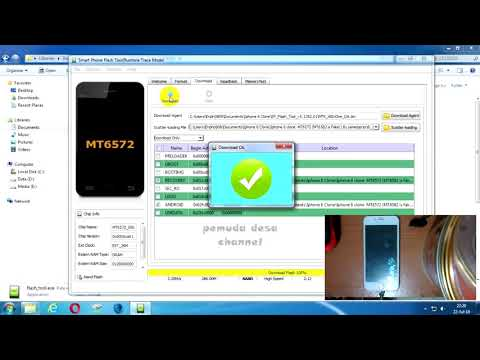 Flashing Iphone 6 Clone MT6572 (MT6582 Fake) and Wiping Factory Reset