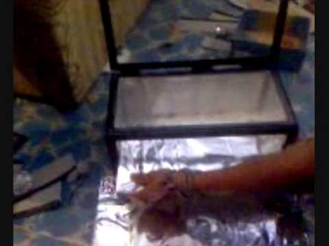 Como hacer una cocina solar youtube - Como distribuir una cocina ...