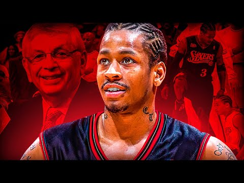 Did David Stern RUIN Allen Iverson's Career?!