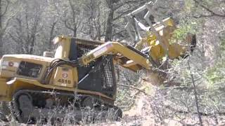 AMERICAN WILDFIRE MASTICATER - Tree Chipper / Hazard Fuel Reduction