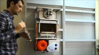 Перенастройка котла Vela compact на сжиженный газ #3(описан процесс переналадки котла для работы на сжиженном газе на примере котла Vela compact 24 CTFS компании Nova Florida., 2013-11-12T15:22:56.000Z)