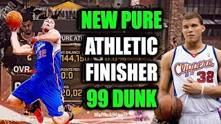 Video NEW PURE ATHLETIC FINISHER! ALL ATTRIBUTES & BADGES! 99 DUNK!- NBA 2K18 download MP3, 3GP, MP4, WEBM, AVI, FLV Januari 2018