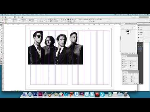 Creating a Double Page Spread in InDesign - Part 1