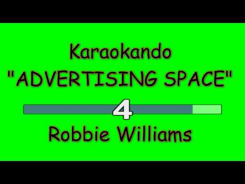 Karaoke Internazionale - ADVERTISING SPACE - Robbie Williams ( lyrics )