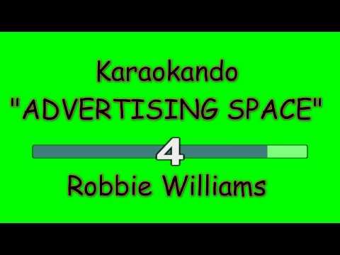 Karaoke Internazionale - ADVERTISING SPACE - Robbie Williams ( lyrics )