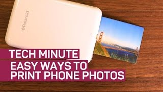 Easy ways to print phone photos