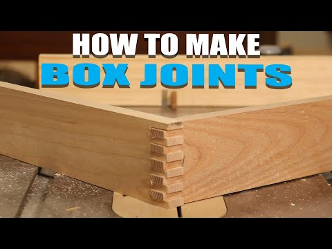 How to Make Box Joints/Finger Joints - Easy Joinery