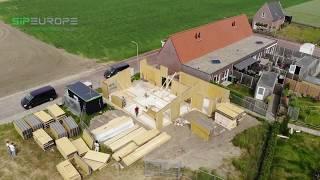 Structural Insulated Panel - SIPEUROPE - Assembling in Netherlands - Geersdijk - Zeeland